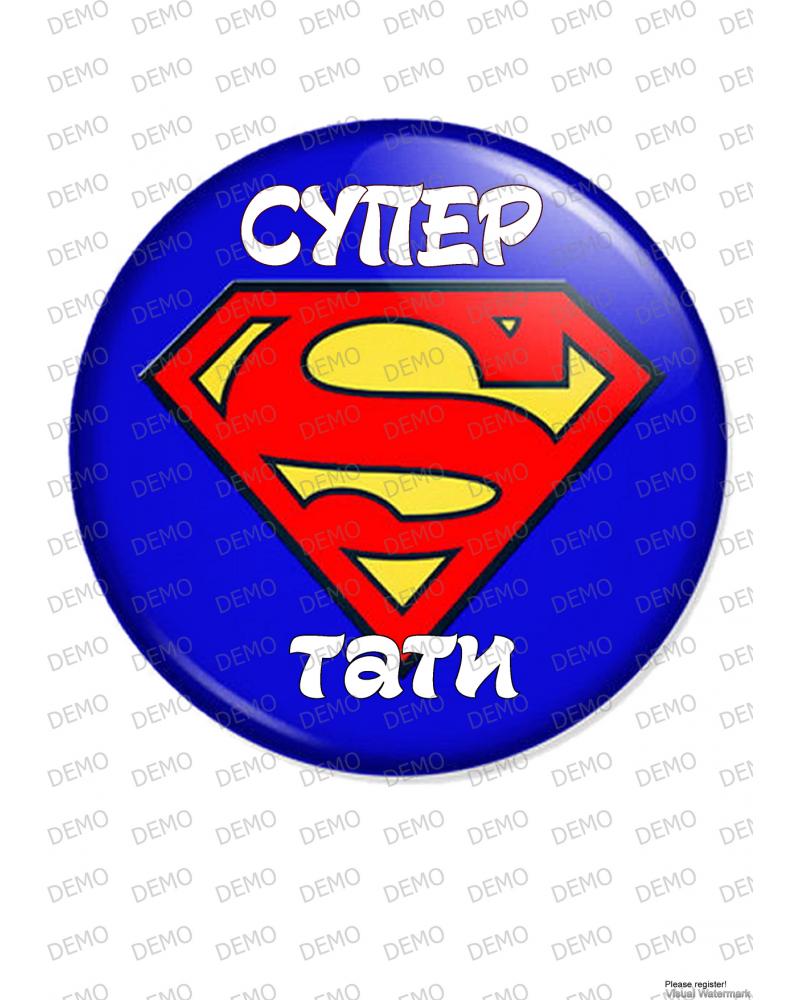 003 superman торта