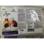 захарно тесто/ фондан ЗА МОДЕЛИРАНЕ ма цветя и фигурки - Master Martini бяло 1 кг Irys