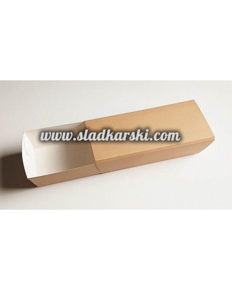 кутия картонена от две части18,5*8*5,5см /отваряне тип кибрит