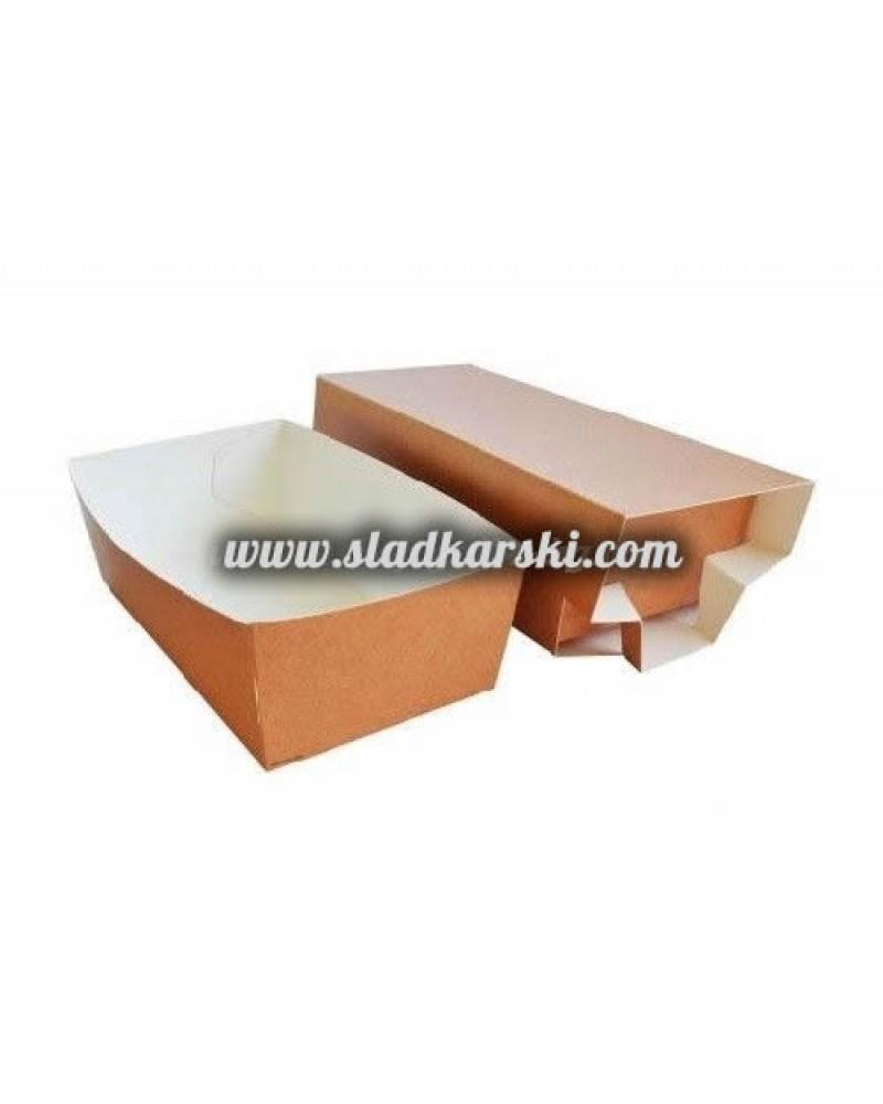 кутия картонена от две части 15,5*8*5 см /отваряне тип кибрит