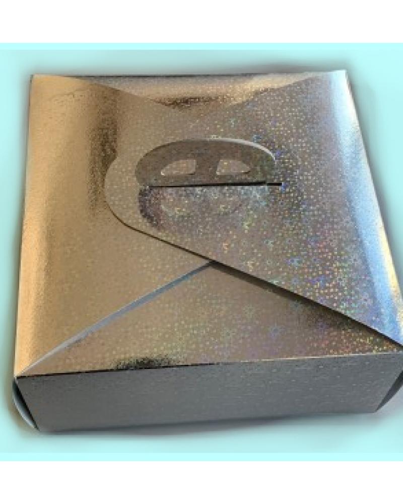 кутия за торта цяла с холограм 42/42