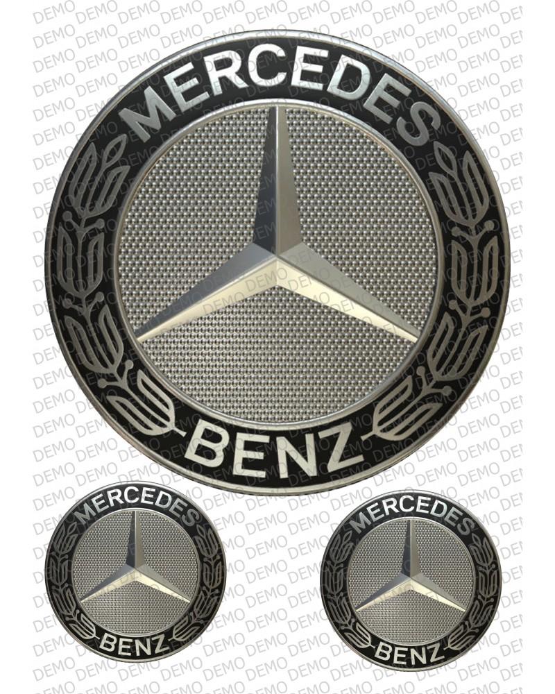 КОЛИ 039 - декорация за торта Mercedes logo