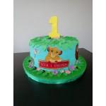 001а Цар Лъв - декорация за торта