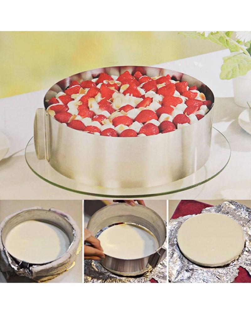 Регулируем ринг за торта Cake Ring 16-21 см