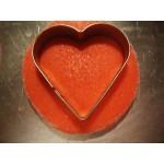 Meтални форми сърца -комплект от 3 бр - / сърце /