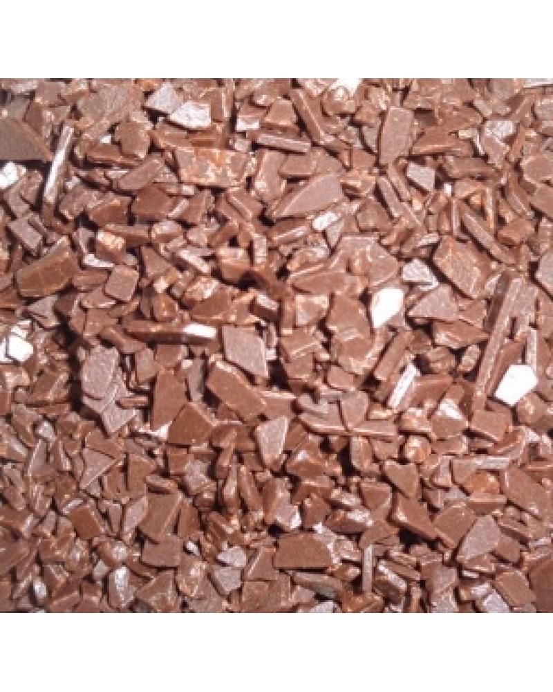 Скалиета - каравела  млечен шоколад 2 кг , шоколадова декорация /Scaglietta