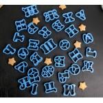 азбука българска резци А-Я / кирилица